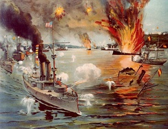 The Battle of Manila Bay, 1898
