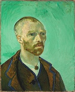 Vincent van Gogh, Self-portrait dedicated to Paul Gauguin, 1888