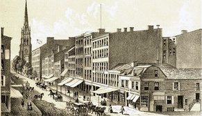 Broadway in 1834