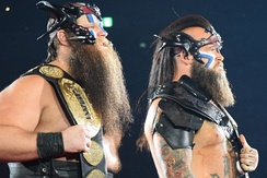 War Machine as the IWGP Tag Team Champions