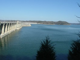 Lake Cumberland is the largest artificial American lake east of the Mississippi River by volume.