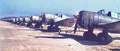 Mitsubishi Ki-51s at Kimpo in October 1945