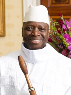 Yahya Jammeh, President of the Gambia, 1994–2017