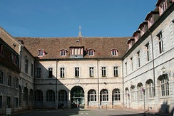 Courtyard of the former city hall