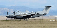 MC-12W Liberty at Beale AFB