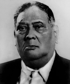 A. K. Fazlul Huq, the Premier of United Bengal who moved the Lahore Resolution and subsequently became the Governor of East Pakistan.