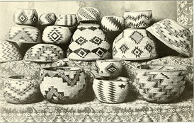 Basketry of the Hat Creek people