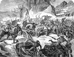 Battle of Vučji Do between Montenegrin and Ottoman Army