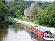 The Bugsworth Basin on the Peak Forest Canal