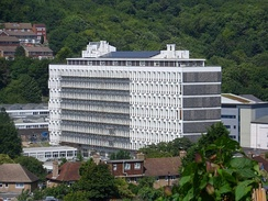 Built in 1962–63 for Brighton Polytechnic (now the University of Brighton), the Cockcroft Building is now one of the university's main buildings.