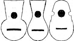 "A plan of three cuatro body designs. From left to right, the traditional cuatro antiguo design, the ""Southern"" soft waisted cuatro antiguo, and the modern ""aviolinado"" cuatro."