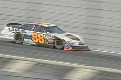 The No. 88 driven by Dale Jarrett in 2005