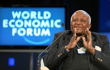 Archbishop Desmond Tutu (BD '65, MTh '66) was awarded the Nobel Peace Prize in 1984
