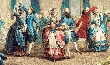 French aristocrats, c. 1774