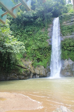 Waterfalls are a common sight in the highlands of eastern Bangladesh