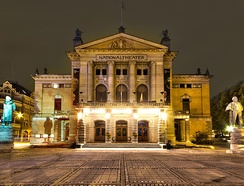 The National Theatre is the largest theatre in Norway[93]