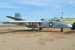 Northrop YA-9A display at the March Field Air Museum, Riverside, CA.