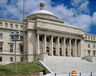 The Capitol of Puerto Rico, home of the Legislative Assembly in Puerto Rico