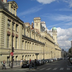 The former main building of the University of Paris is now used by classes from Paris-Sorbonne University and other autonomous campuses.