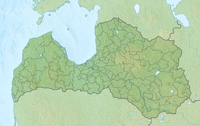 Geography of Latvia is located in Latvia