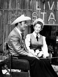 Rogers and Dale Evans at Knott's Berry Farm in the 1970s