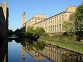 Salts Mill in Saltaire, a UNESCO World Heritage Site