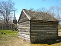 Schorn Log Cabin in New Sweden Park, Swedesboro, New Jersey