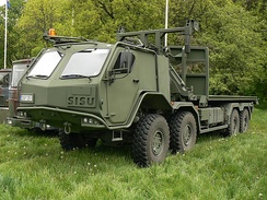 Sisu E13TP 8×8 military truck of the Lithuanian Armed Forces