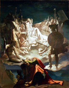 Ossian's Dream, Jean Auguste Dominique Ingres, 1813
