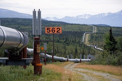 Part of the Trans-Alaska Pipeline System