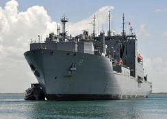 USNS Wally Schirra (Lewis and Clark-class dry cargo ship) was named after Schirra (2010)