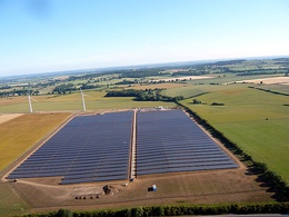 The community-owned Westmill Solar Park in South East England