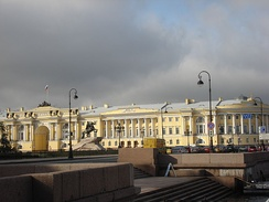 The Senate and Synod headquarters – today the Constitutional Court of the Russian Federation on Senate Square in Saint Petersburg.
