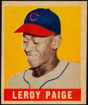 Paige's 1948 Leaf card