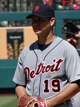 Aníbal Sánchez with the Detroit Tigers in 2012