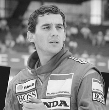 Ayrton Senna won the first of his three Drivers' Championships in 1988.