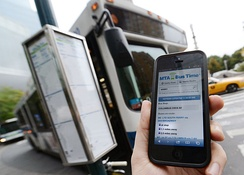 MTA Bus Time app