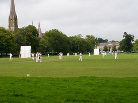 Armagh's Mall is home to the Armagh Cricket Club, and has also staged international matches.