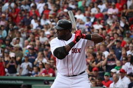 Ortiz batting in 2009