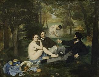 Eduard Manet: Le déjeuner sur l'herbe (1862-63)
