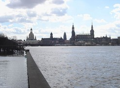 Dresden skyline in 2006