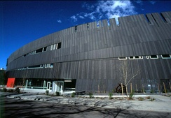 Exterior of Nevada Museum of Art
