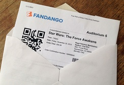 Ticket to Star Wars: The Force Awakens