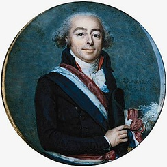 François Antoine de Boissy d'Anglas, one of the principal authors of the Constitution of 1795, which created the Directory