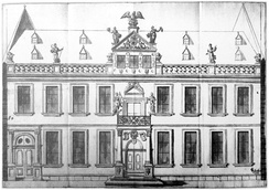 Emperor Charles's residence Palais Barckhaus in Zeil, Frankfurt, which he used in exile