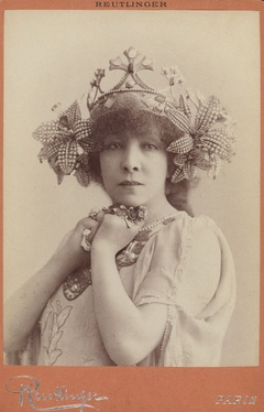 As Melissande in La Princesse Lointaine by Edmond Rostand (1897)