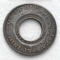 Holey dollar and dump first distinct NSW coinage(1813)[58]
