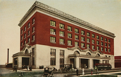 An illustration of Union Station, 1913