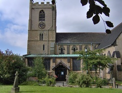 St Mary Magdalene church is the final resting place of Lord Byron and his daughter, Ada Lovelace.