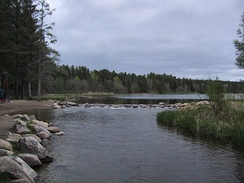 The beginning of the Mississippi River at Lake Itasca (2004)